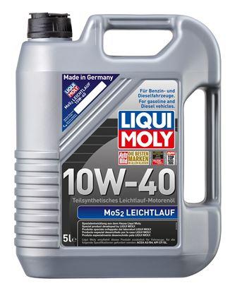 Resim LIQUI MOLY 10W40  Motor Yağı Kısmi Sentetik MoS2'li LEICHTLAUF  5 Litre (2184)