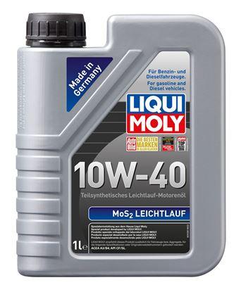 Resim LIQUI MOLY 10W40 Motor Yağı MoS2'li Kısmi Sentetik  LEICHTLAUF  1 Litre (2626)