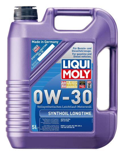 resm LIQUI MOLY 0W30 Motor Yağı Synthoil Longtime 5 Litre (8977)