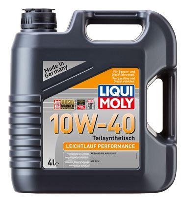 Resim LIQUI MOLY 10W40 Motor Yağı Leichtlauf Perform 4 Litre  (8998)
