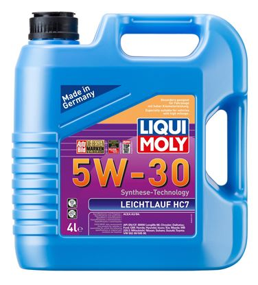 Resim LIQUI MOLY 5W30 Motor Yağı Leichtlauf HC7 4 Litre  (8461)