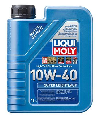 Resim LIQUI MOLY 10W40 Motor Yağı Süper Sentetik SUPER LEICHTLAUF 1 Litre  (9503)