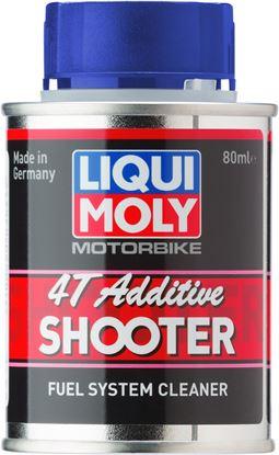 Resim LIQUI MOLY  4 Zamanlı Motosiklet Benzin Katkısı -Yakıt sistemi Temizleyici 80 ml (7824)