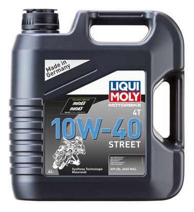 LIQUI MOLY 10W40 4T Street Motosiklet Motor Yağı 4 Litre (1243)