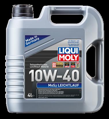 Resim LIQUI MOLY 10W40  Motor Yağı Kısmi Sentetik MoS2'li LEICHTLAUF  4 Litre (6948)