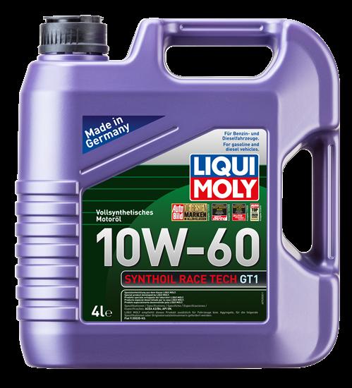resm LIQUI MOLY 10W60 Motor Yağı Synthoil Race Tech GT1  4 Litre (7535)