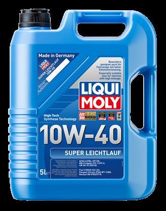 Resim LIQUI MOLY 10W40 Motor Yağı Süper Sentetik  SUPER LEICHTLAUF 5 Litre  (9505)