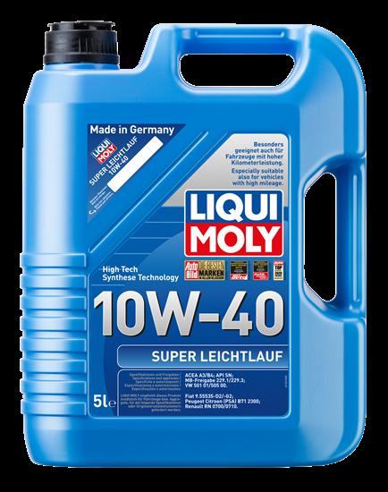resm LIQUI MOLY 10W40 Motor Yağı Süper Sentetik  SUPER LEICHTLAUF 5 Litre  (9505)