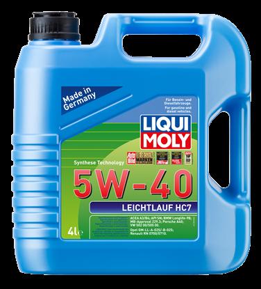 Resim LIQUI MOLY 5W40 Motor Yağı Sentetik LEICHTLAUF HC7   4 Litre (1382)