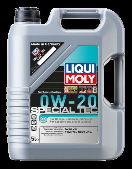 resm LIQUI MOLY 0W20 Motor Yağı Special Tec V 5 Litre (20632)