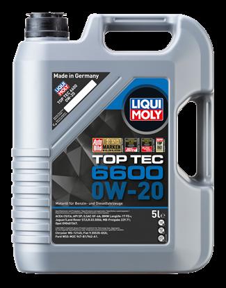 Resim LIQUI MOLY 0W20 Motor Yağı Top Tec 6600 5 Litre  (21411)